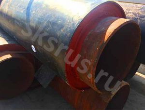 Трубы ЭС 530 с наружной теплоизоляцией ППУ-ПЭ 710 оболочка ГОСТ 30732-78